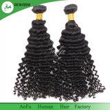 Qualitäts-tiefe Wellen-Jungfrau-brasilianisches menschliches natürliches Haar