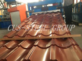 Folha Prepainted do telhado do metal da folha da telhadura alta qualidade de aço colorida
