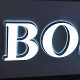 Signe acrylique d'avant de mémoire de lettre de la publicité extérieure DEL Frontlit