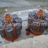Los productos de China la gravedad de la máquina separadora espiral