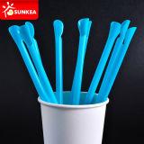 Elástico de color paja Bendy potable flexibles de plástico