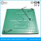 500x500 quadrado de plástico da tampa de inspeção com bloqueio