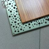 6061 Venta caliente perfil de aluminio acabado de madera para la ventana y puerta.