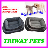 Quaulity alto confort y la cama del perro (WY161080A/B)