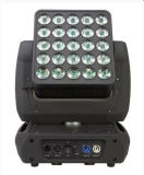Epsilon Flexcube 25 10W LED Moving Head Beam Painel de luz
