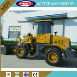 Powerful Eninge를 가진 ACTIVE 1.8ton Mini Front End Discharge Loader
