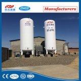 Tanque vertical de GNL do líquido criogênico de aço inoxidável