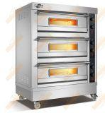 Horno eléctrico de la panadería de la eficacia alta (3 bandeja de la capa 3)