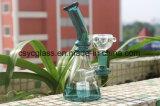 cachimbo de água de vidro do vidro da tubulação de água de 17.5cm