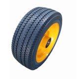 rueda sólida de la PU 10X4 para la carretilla de la mano
