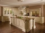 アメリカの贅沢な別荘のプロジェクトの骨董品様式の固体木の食器棚