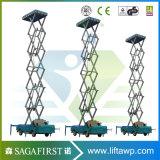 heftoestel van de Bouw van de Lift van 8m het Hydraulische Lucht Mobiele Vrachtwagen Opgezette