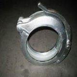 Abrazadera inoxidable del acoplador de la pieza de acero fundido de la inversión con trabajar a máquina