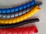Material PP protetores de borracha em espiral