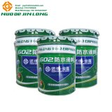 Красочный Oil-Based двойной компонент PU полиуретан водонепроницаемые краски