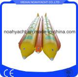 Barcos de plátano inflables dobles divertidos del tubo del Rowing para la venta