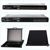 Prix ​​d'usine OEM / ODM CAT5 LED KVM Switch