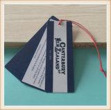 Etiqueta de la caída del papel de imprenta de la fábrica del OEM para la ropa