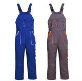 Design personalizado sarjado de algodão de alta qualidade a Bib Calças de trabalho e uniformes