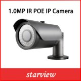 1.0MP камера сети обеспеченностью CCTV пули иК IP Poe