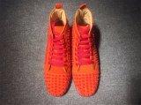 Модным дизайнером марки пиков шипами квартир обувь красный нижней части обуви для мужчин и женщин Группа любителей натуральная кожа кроссовки мужчин зерноочистки