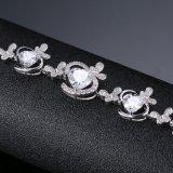 女性のための卸し売り環境に優しい個人化されたジルコンの模造宝石類のブレスレット
