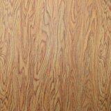 Cuero frustrado impreso textura de madera natural del bolso del PVC del grano del árbol