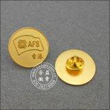 동전 연약한 사기질 기장, 경쟁 접어젖힌 옷깃 Pin (GZHY-FFL-005)