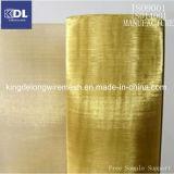 フィルタに掛けることのための黄銅によって編まれる金網