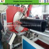 Ligne pipe ondulée d'extrusion de pipe de Krah de HDPE de spirale de HDPE faisant la machine