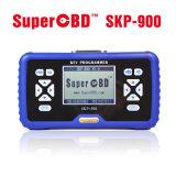 Programmeur OBD2 principal tenu dans la main de programmeur principal superbe d'OBD Skp-900