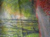 Le satin/ Light-Box /tricoté /impression en sublimation tissu du pavillon