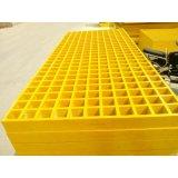 Resistente a la corrosión GRP FRP Rejilla de fibra de vidrio para la plataforma