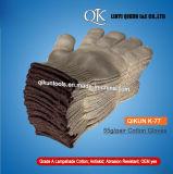 K-77 50g/Pairによって編まれる働く安全ランプのかさの綿の手袋