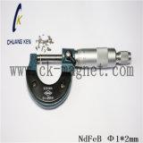 Ck-237 Grado imanes de NdFeB Φ 1*2mm