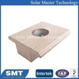 Morsetto dell'estremità e METÀ DI montaggio di comitato solare del morsetto