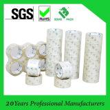 Bande transparente/claire d'emballage du ruban adhésif OPP de BOPP