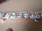 Flûte de professionnels à bon marché --- matériau en cuivre phosphoreux, 18 touche touche française de la flûte