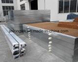 Refrigerar de ar quente refrigerando da almofada da cor de Brown da exploração avícola de Jinlong