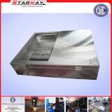電気金属を取付けるステンレス鋼を広告するTVのコンピュータ