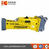 Sb40 Stille Hydraulische Hamer die op Graafwerktuig (YLB680) wordt gebruikt