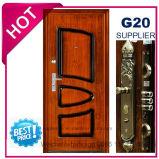 2017 Metal Exterior de qualidade superior da porta de segurança de aço (EF-S124B)