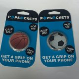 로고에 의하여 인쇄된 전화 홀더가 농구에 의하여와 Soccerball 디자인은 이동 전화 홀더 터진다