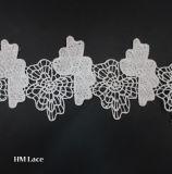8.5cmの網の花のレースのトリムのレースファブリックトリム