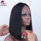 Los encajes de plena recta peluca de cabello virgen