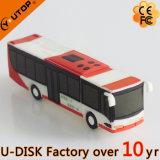 Lecteur flash USB personnalisé de véhicule de véhicule/bus/camion de PVC