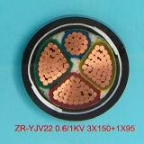 Tensão baixa 150mm cobre XLPE 4 Core Steel Armored PVC cabo de alimentação
