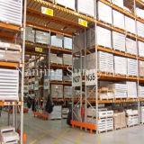 Rack de paletes galvanizado de aço pesado industrial