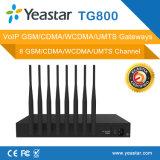 8 canaux VoIP GSM Passerelle SMS réseau GSM à la VoIP