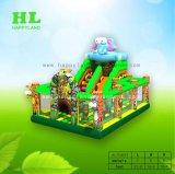 Speelplaats van de Uitsmijter van Doll van de Olifant van de Camouflage van de giraf de Opblaasbare